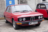 WARSAW - September 28: Old BMW car on Oldtimers meeting.September 28, 2013 in Warsaw, Poland. — Stock Photo