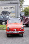 WARSAW - September 28: Old car on Oldtimers meeting.September 28, 2013 in Warsaw, Poland. — Stockfoto