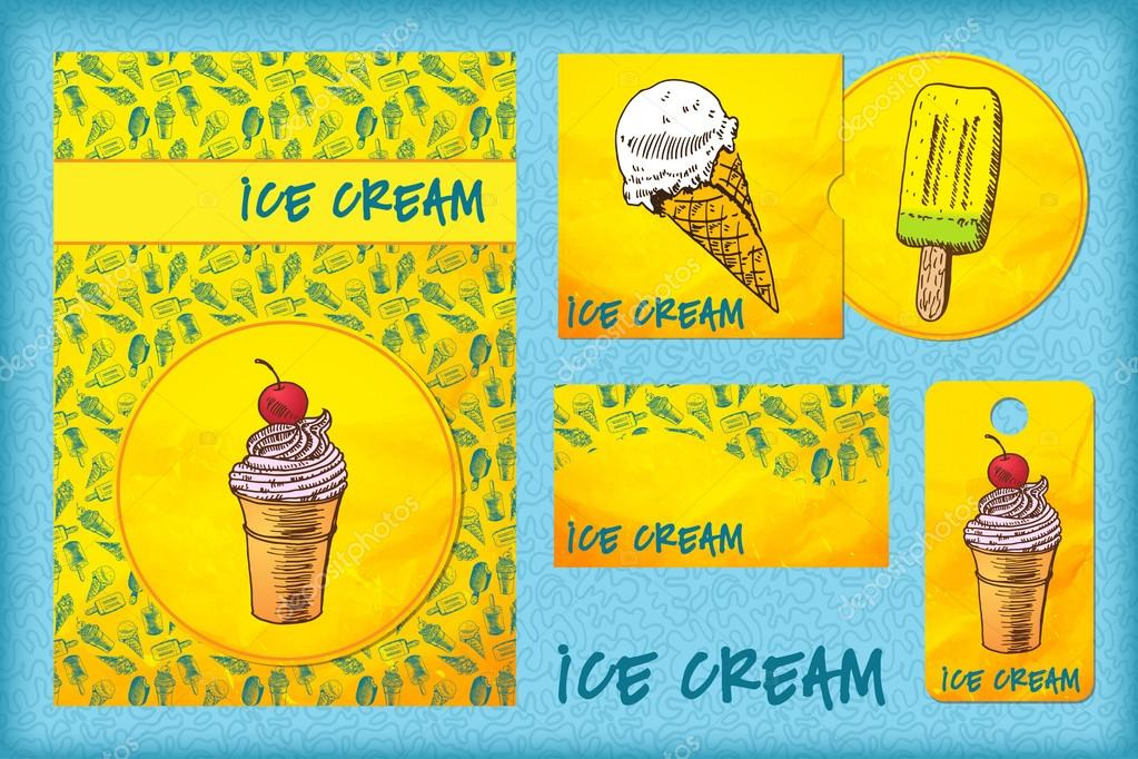 Ice Cream Package Template Template With Ice Cream