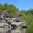 Rockwood lake, Ontario, Canada — Stock Photo