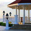 Wedding gazebo — Stock Photo