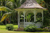 Gazebo in Shaw Park Botanical Gardens — Stock Photo