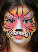 Face painting — Foto Stock