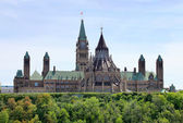 Canada's Parliament Buildings — Stock Photo