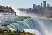 Niagara Falls in autumn — Stock Photo