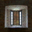 Window in brick wall — Stock Photo #18240673
