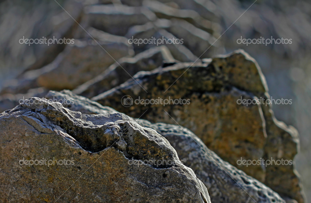 Natural rock texture background — Stock Photo #18283317