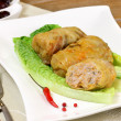 Stuffed cabbage with meat and rice. — Stock Photo #21147215