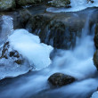 Winter mountain river — Stock Photo #21147683