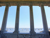 View from Plymouth Rock monument — Stock Photo