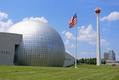 Naismith Memorial Basketball Hall of Fame — Stock Photo