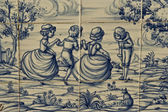 Tile, Talavera ceramics, holiday, dance — Foto de Stock