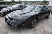 Kitt the car fantastic, replicated, Pontiac Firebird Trans Am — Stock Photo