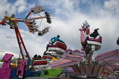 Attraction, fair attraction, park, — Stock Photo