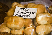 The bun or bread preñao, Asturias, Spain — Stock Photo