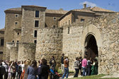 Castle of Oropesa, Toledo, Spain — Stock Photo
