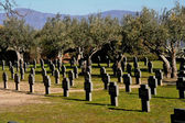 German Cemetery Cuacos de Yuste, Caceres, Spain — Stock Photo