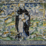 Talavera pottery, tiles Basilica del Prado, Talavera de la Reina — Stock Photo