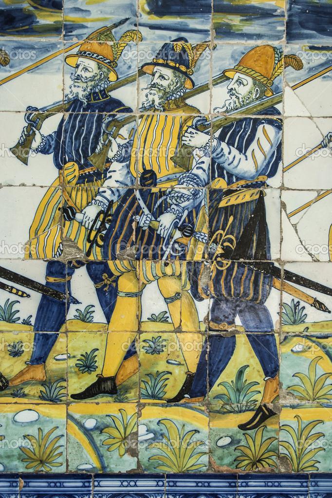 Azulejos Para Baños En Talavera Dela Reina:Azulejos de cerámica de Talavera, Basílica del prado, talavera de la