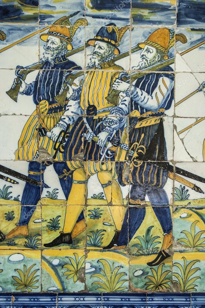 Azulejos de cer mica de talavera bas lica del prado - Talavera dela reina ceramica ...