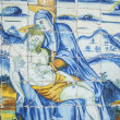 Religious tiles Basilica del Prado of Talavera de la Reina, Tole — Stock Photo