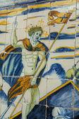 Informationen über keramik talavera, toledo, spanien, — Stockfoto