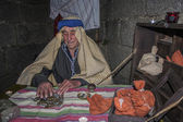 Living Nativity Christmas Navamorcuende, Toledo, Spain, — Stock Photo