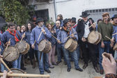Villanueva de la Vera, Caceres, The Carnival is Peropalo — Stock Photo