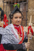 Traditional celebrations Carnaval de Animas, Villar del Pedroso, Caceres, Extremadura,   Spain, — Stock Photo