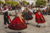 Traditional celebrations Carnaval de Animas, Valdeverdeja, Toledo, Spain — Stock Photo