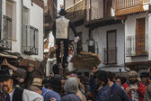 Shrove Tuesday, El Peropalo,  Villanueva de la Vera, Caceres, Extremadura, Spain — Stock Photo