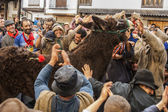 Shrove Tuesday, Villanueva de la Vera, Caceres, Extremadura, Spain — Stock Photo
