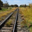 Railway and blue sky — Stock Photo #12795780