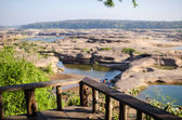 Sampanbok in Mekong River, Ubon Ratchathani, Thailand — Stock Photo