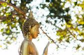 Buddha statue in Thai's temple — Stock Photo