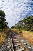 Järnväg — Stockfoto
