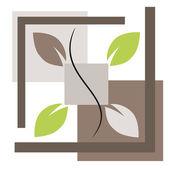 Nature symbol illustration — Stock Vector