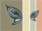 抽象蝴蝶背景图 — 图库矢量图片