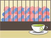 Tea illustration — Stock Vector