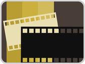 Movie icon illustration — Stock Vector