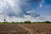Země a obloha — Stock fotografie