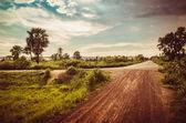 Road soil — Stock fotografie