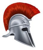Corinthian helmet — Stock Vector