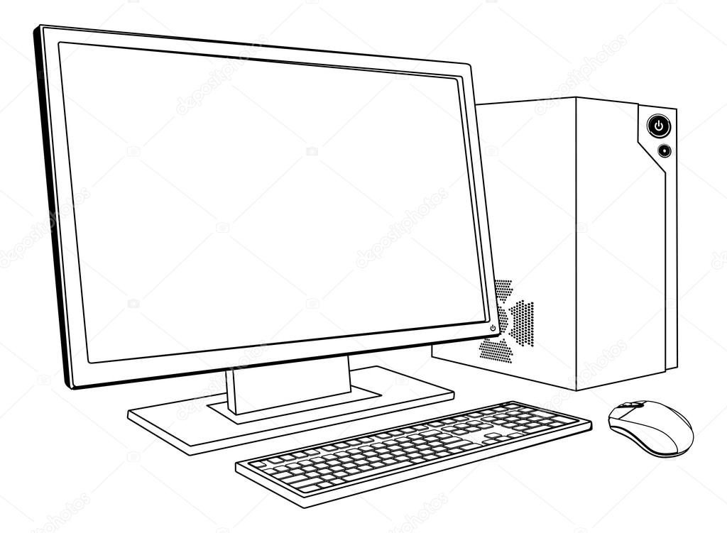Белые рисунки на компьютер