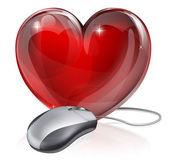 Online dating koncept — Stockvektor
