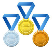 Prize medals — Stock Vector