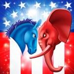 Постер, плакат: American Politics Concept