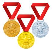 Winners medals — Stock vektor