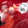 Royalty-Free Stock Vector Image: Abstract Soccer Sport Background