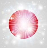 Japanese flag background — Stock Vector